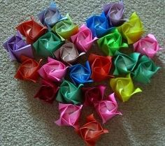 wikiHow to Fold a Paper Rose -- via wikiHow.com