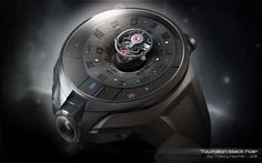 Tourbillon Black Hole by Thierry Fischer