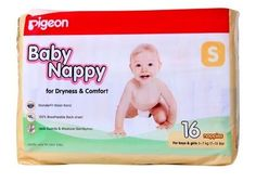 Pigeon - Baby Nappy S (3 - 7 Kg), 16 Pieces Buy Online at Best Price in India: BigChemist.com