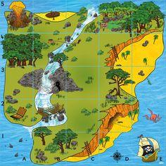 Bee-Bot Treasure Island Mat | EducaTec AG