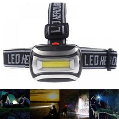 High Quality Mini Plastic 600Lm LED Headlight Headlamp Head Light Lamp Flashlight 3aaa Torch For Camping Hiking Fishing  Price: 8.99 & FREE Shipping  #tech|#electronics|#bluetooth|#computers
