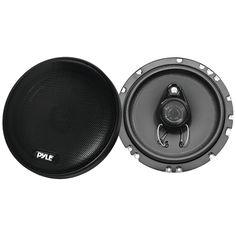 """Pyle Plus Series Slim-mount Coaxial Speakers (6.5"""" 3 Way 200 Watts)"""