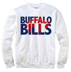 Buffalo Bills Crewneck Sweatshirt by BAMCustomCreations on Etsy