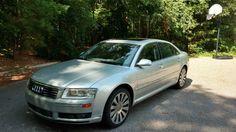 Car brand auctioned:Audi A8 L Sedan 4-Door 2005 Car model audi a 8 l quattro