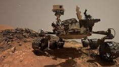 BBC News. The NASA robot this week celebrates martian days investigating the surface of the Red Planet. Science News, Science And Technology, Sonda Curiosity, Nasa, Mars Science Laboratory, Curiosity Rover, Red Planet, Evening Sky, Digital Trends