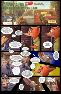 Zootopia: The Secret of Finnick, pt.1 by SuperSmurgger on DeviantArt