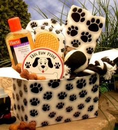 Unique Gift Basket for Doggie