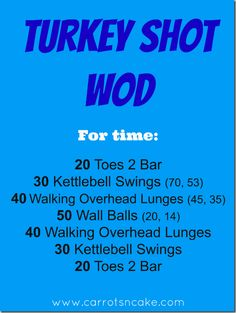 20 T2B, 20 KBS, 40 walking OH lunges, 50 Wallballs, 40 walking OH lunges, 30 KBS, 20 T2B