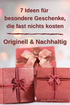 Hier finden Sie originelle & nachhaltige Ideen für besondere Weihnachtsgeschenke. #weihnachten #besonders #persönliche #geschenke #liebe #weihnachtsgeschenke #ideen #tipps #impulse #advent #schenken #schöne #zeit #sparen #feiertage #familie #zusammensein #besinnlichkeit #erholung #winter #schnee Winter Schnee, Alternative, Impulse, Gift Wrapping, Advent, Zero, Gifts, Trends, Sustainability