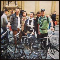 Cruise around #Florence http://www.florencetown.com/eng/florence-tours/half-day-tours/40/i-bike-florence--original-city-bike-tour.html 25 Euros pp Students 10% discount