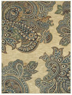 "LOVE this area rug in the HGTV HOME Flooring by Shaw collection style ""Kashmir"" color Beige"