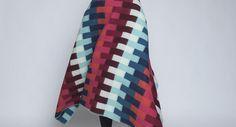 Røros Tweed Asmund Bold 100% Norwegian Wool Blanket