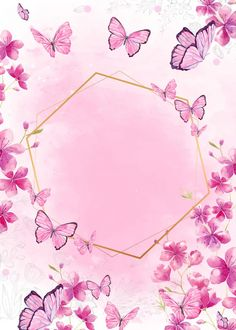 Butterfly Background, Flower Background Wallpaper, Butterfly Wallpaper, Flower Backgrounds, Wallpaper Backgrounds, Iphone Wallpaper, Cartoon Wallpaper, Powerpoint Background Design, Framed Wallpaper
