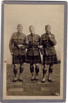 Seaforth Highlanders WWI