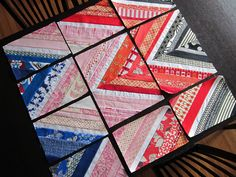 Ziggy Strings tutorial by StitchedInColor, via Flickr