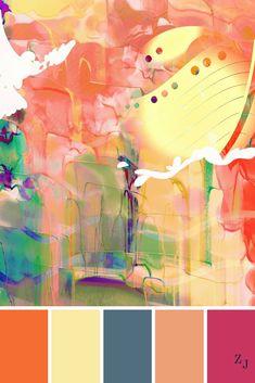 ZJ Colour Palette 483 #colourpalette #colourinspiration