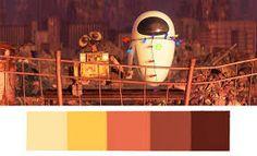 Resultado de imagen de color pallet pixar