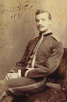 19thcenturyboyfriend: Handsome Man ca. 1891