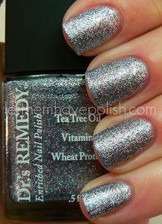 Serene Silver Glitter