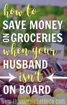 Groceries on a Budget | Save Money on Groceries | How to Save Money | Saving Money Ideas | Saving Money Tips | Frugal Living Tips