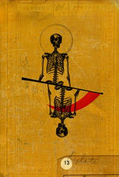 Reversed Keywords: Disaster, accidents, incidents, upheaval and temporary stagnation, inertia, lethargy, delay, indecision, destruction.{Emmanuel Polanco | Graphical Tarot de Marseille ~ Death}