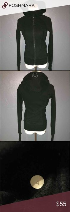 Lululemon scuba hoodie This jacket is in great condition, gently worn  without rips, stains or tears. lululemon athletica Jackets & Coats