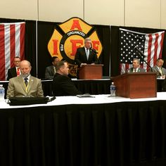 IAFF General President Harold Schaitberger addressing delegates at our 81st Annual PFFW Convention.