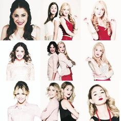 #Violetta and #Ludmila through the seasons.