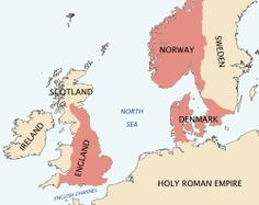 Cnut the Great only ruled England for 20 years, The Saxons ruled it for 600 years - The North Sea Empire or Anglo-Norse Empire is  the kingdoms ruled by Cnut the Great as king of England, Denmark, Norway, and parts of what is now Sweden between 1016 and 1035. It can also be called more specifically the Anglo-Scandinavian Empire.