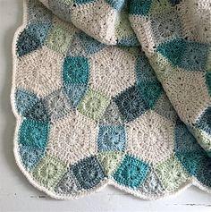 My Rose Valley: Crochet patchwork inspiration