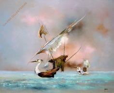 Bernard Louedin Louйdin - Les Migrations des mers - Galerie Gilles Febvre