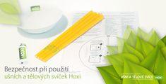 Tělové a ušní svíce HOXI a jejich užití v praxi Icing