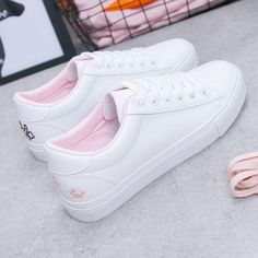 Season New Women's Shoes Wild White Shoes Female Students Flat Shoes Women's Shoes Casual Shoes With White Shoes - Welcome To Best Place To Buy Shoes Womens Fashion Sneakers, Womens Flats, Fashion Shoes, Sneakers Women, Student Flats, Narrow Shoes, Vetement Fashion, Buy Shoes, Women's Shoes
