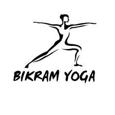 BIKRAM YOGA Yoga Zen Nameste Car Laptop Wall Sticker