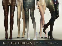 mimilky's Glitter Tights N1