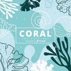 Discover thousands of free-copyright vectors on Freepik Coral Background, Watercolor Background, Background Patterns, Textured Background, Vector Background, Illustrations, Illustration Art, Coral Design, Watercolor Logo