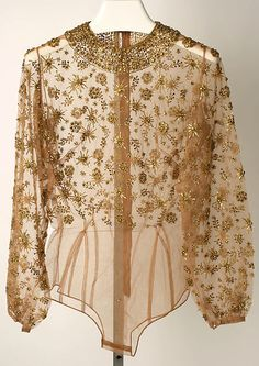 Mainbocher   Evening blouse   American   The Met