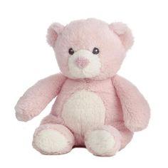 6 Aurora Baby Plush Quizzies Pink Teddy Bear Rattle Stuffed Animal Toy New | eBay