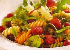Receta Ensalada Pasta y Fruta