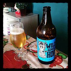Cerveja Mr. Beer Wild Single Hop, estilo Amber Lager, produzida por Burgman, Brasil. 4.5% ABV de álcool.