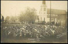 Turkey trot in Cuero, Texas, 1912, Francisco A. Chapa Family papers, MS 405 - UTSA Library Archives