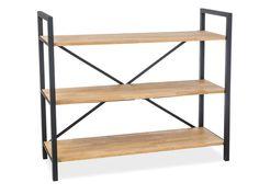 Regál Loras do salonu Magazine Rack, Shelves, Cabinet, Storage, Furniture, Collection, Home Decor, Products, Clothes Stand