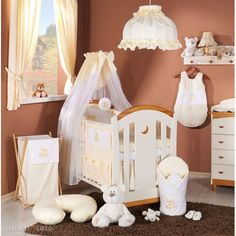 MAMO-TATO - Lenjerie patut 5 piese 120x60 Ursulet si Iepuras Crem Nursery Bedding Sets, Toddler Bed, Furniture, Home Decor, Veils, Colors, Homemade Home Decor, Children's Bedding Sets, Home Furnishings
