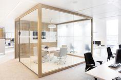 Parois vitrées - NUON'S Amsterdam Headquarters / HEYLIGERS d+p
