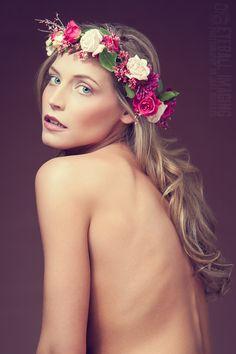 Gorgeous headshot #flowerchild