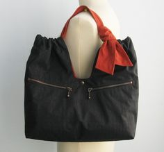Reserved-----Prada Small Hand Bag Black Tessuto Satin Nylon