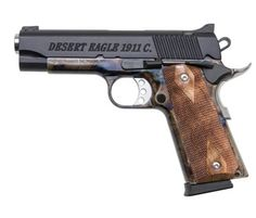 Magnum Research Desert Eagle 1911 C, Case-Hardened Frame - Style # DE1911CCH, MRI Shop / Firearms