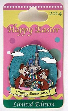 Disney Trading Pins - 2014 - Limited Editions: Easter with Chip and Dale Disney http://www.amazon.com/dp/B00VYPY704/ref=cm_sw_r_pi_dp_8IsIvb1NS96CX