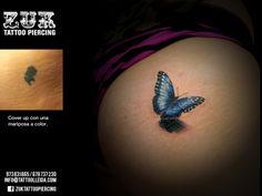 Cover up a color. Tercera sesión. De Yarda, en ZUK Tattoo Piercing de Lleida
