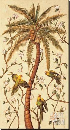 Tropical Panel I Stretched Canvas Print by Rodolfo Jimenez at Art.com